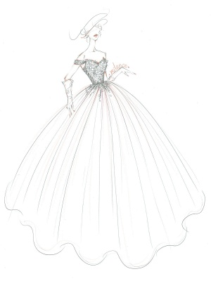 Wedding Dresses Princess Silhouette Court Train Off The Shoulder Sleeveless Natural Waist Lace Tulle Bridal Gowns_4