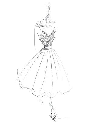 Short Wedding Dresses V Neck Sleeveless A Line Tea Length Straps Bridal Gowns_6