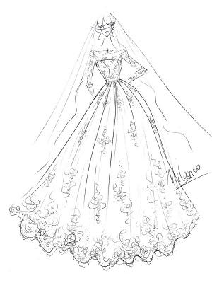 Bridal Dresses 2021 Princess Silhouette Bateau Neck Long Sleeve Natural Waist Lace Tulle Wedding Gowns_7