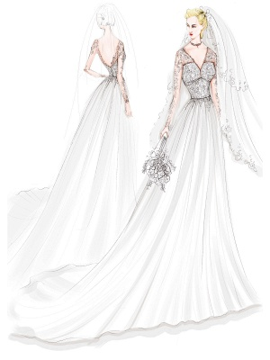 Lace Wedding Dresses 2021 Chiffon V Neck A Line Long Sleeve Lace Applique Beach Wedding Bridal Dress With Train Free Customization_9