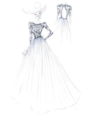 Boho Bridal Dresses 2021 Jewel Neck Long Sleeve A Line Floor Length Chffion Bridal Dress For Beach Wedding_10