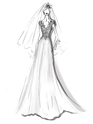 Cheap Wedding Dresses 2021 Chiffon A Line V Neck Sleeveless Lace Beaded Bridal Gowns With Train_3