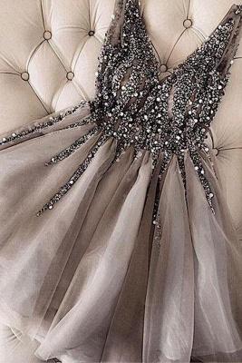 Sexy Hoco Dresses V Neck Cheap Homecoming Dress