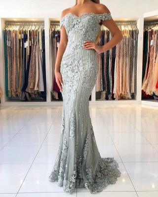 ZY016 Evening Dresses Long Lace Glitter Evening Dress Large Large_3