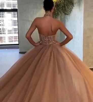 ZY056 Elegant Evening Dresses Long Gold Glitter Prom Dresses_3