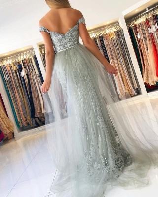 ZY016 Evening Dresses Long Lace Glitter Evening Dress Large Large_4