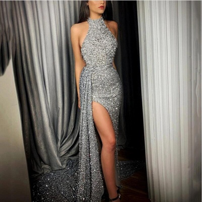 ZY085 Evening Dresses Long Glitter Prom Dresses Evening Wear Online_2