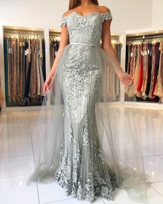 ZY016 Evening Dresses Long Lace Glitter Evening Dress Large Large_2