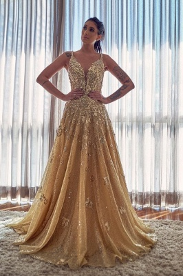 ZY055 Evening Dresses Long Glitter Cheap Prom Dresses With Lace_1