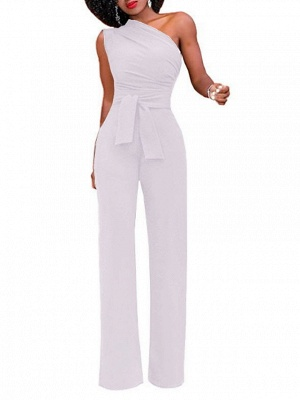 Women's White Red Yellow Jumpsuit_7