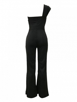 Women's White Red Yellow Jumpsuit_10