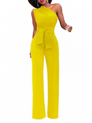 Women's White Red Yellow Jumpsuit_6