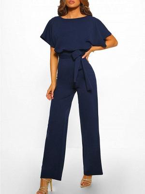 Women's Basic \ Street chic Black Blue Red Romper_13