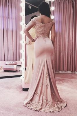 ZY134 Evening Dresses Long Pink Festive Evening Wear_1