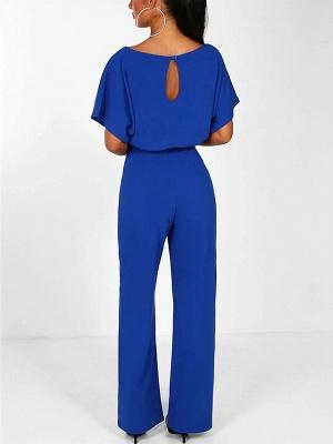 Women's Basic \ Street chic Black Blue Red Romper_10