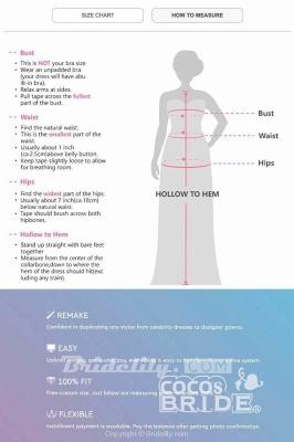 Sleeveless V-neck Lace Chiffon A-Line Side Split Floor-Length Wedding Dresses_5