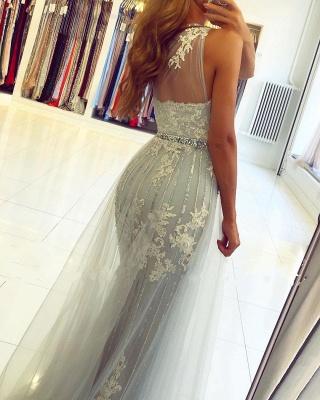 ZY131 Elegant Evening Dresses Long Lace Prom Dresses Glitter_6
