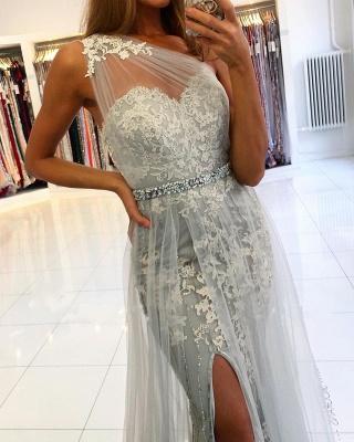 ZY131 Elegant Evening Dresses Long Lace Prom Dresses Glitter_4