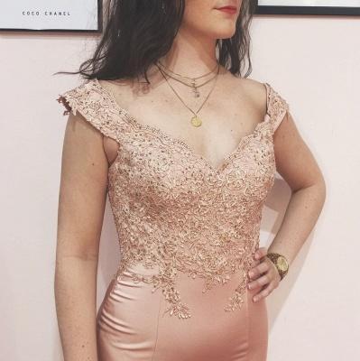 ZY134 Evening Dresses Long Pink Festive Evening Wear_2