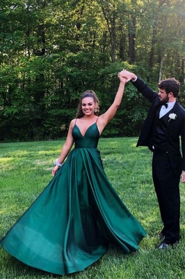 ZY212 Green Evening Dresses Long Evening Dresses Prom Dresses_1