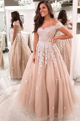 ZY224 Elegant Evening Dresses With Lace Prom Dresses Evening Wear_2