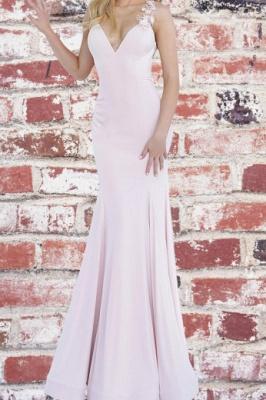 ZY172 Beautiful Evening Dress Long Pink Evening Wear Backless_2