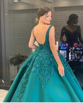 ZY301 Designer Evening Dresses Long Cheap Evening Wear With Sleeves_3