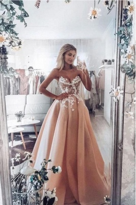 ZY348 Fashion Evening Dresses Long With Lace Prom Dresses Online Cheap_1